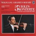 グリュミオー&デイヴィスのモーツァルト/ヴァイオリン協奏曲集 独PHILIPS 2941 LP レコード