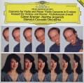 クレーメル&アルゲリッチのメンデルスゾーン/ヴァイオリンとピアノのための二重協奏曲ほか  独DGG 2942 LP レコード