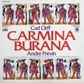 プレヴィンのオルフ/「カルミナ・ブラーナ」  独EMI 2942 LP レコード