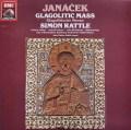 ラトルのヤナーチェク/「グラゴル・ミサ」  英EMI 2942 LP レコード