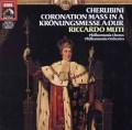 ムーティのケルビーニ/「シャルル10世の戴冠式のための荘厳ミサ曲」  独EMI 2942 LP レコード