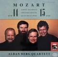 アルバン・ベルク四重奏団のモーツァルト/弦楽四重奏曲第14&15番  独EMI 2942 LP レコード