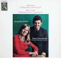デュ・プレ&バレンボイムのシューマン/チェロ協奏曲ほか  独EMI 2942 LP レコード