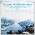 ルプー&ゴールドベルクのモーツァルト/ヴァイオリンソナタ集 vol.1  独DECCA 2942 LP レコード