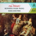 ピレシュのモーツァルト/ピアノソナタ第8,11,14,16番  仏ERATO 2942 LP レコード