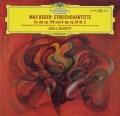 ドロルツ四重奏団のレーガー/弦楽四重奏曲第2&4番  独DGG 2943 LP レコード