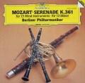 ベルリン・フィル首席奏者たちのモーツァルト/セレナード第10番「13管楽器」  独DGG 2943 LP レコード