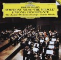 アバドのハイドン/交響曲第96番「奇跡」&協奏交響曲  独DGG 2943 LP レコード
