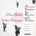 グリュミオー&ハスキルのモーツァルト/ヴァイオリンソナタ集  蘭PHILIPS 2943 LP レコード