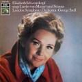 シュヴァルツコップ&セルのモーツァルト&R.シュトラウス/歌曲集  独EMI 2943 LP レコード