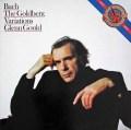 グールドのバッハ/ゴルトベルク変奏曲  蘭CBS 2943 LP レコード