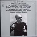 ワルターのモーツァルト/後期交響曲集(リハーサル風景付)  独CBS 2943 LP レコード