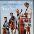 イタリア四重奏団のモーツァルト/弦楽四重奏曲全集  蘭PHILIPS 2943 LP レコード