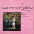 オークレールのシューベルト/ヴァイオリンとピアノのための作品集 vol.1  仏ERATO 2944 LP レコード