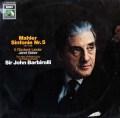 バルビローリのマーラー/交響曲第5番  独EMI 2944 LP レコード