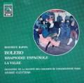 クリュイタンスのラヴェル/「ボレロ」ほか  独EMI 2944 LP レコード