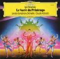 アバドのストラヴィンスキー/「春の祭典」   独DGG 3038 LP レコード