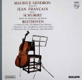 ジャンドロン&フランセのシューベルト/「アルペジオーネ・ソナタ」ほか  蘭PHILIPS 2944 LP レコード