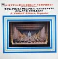 ビッグス&オーマンディのサン=サーンス/交響曲第3番「オルガン付」  英CBS 2944 LP レコード