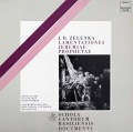 ヤーコプス&バーゼル・スコラ・カントルムのゼレンカ/「エレミアの哀歌」全曲  独HM 2944 LP レコード
