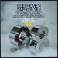 カラヤンのベートーヴェン/交響曲第8番&第9番「合唱付き」  独DGG 2944 LP レコード