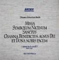 リヒターのバッハ/「ミサ曲ロ短調」  独ARCHIV 2944 LP レコード