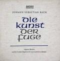 【オリジナル盤】ヴァルヒャのバッハ/「フーガの技法」  独ARCHIV 2944 LP レコード