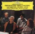 ムター、ゼルツァー、マ&カラヤンのベートーヴェン/三重協奏曲  独DGG 2945 LP レコード