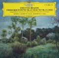 【テストプレス】アーロノヴィッツ&アマデウス四重奏団のブラームス/弦楽五重奏曲第1&2番  独DGG 2945 LP レコード