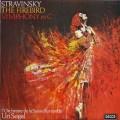 【オリジナル盤】セガルのストラヴィンスキー/「火の鳥」組曲ほか  英DECCA 2945 LP レコード