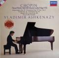アシュケナージのショパン/ピアノ作品集 (8)  独DECCA 2945 LP レコード