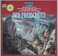 カイルベルトのウェーバー/「魔弾の射手」全曲  独EMI 2945 LP レコード