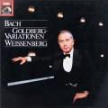 ワイセンベルクのバッハ/ゴルトベルク変奏曲  独EMI 2945 LP レコード