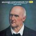 ベームのブルックナー/交響曲第7&8番  独DGG 2945 LP レコード