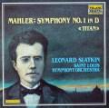 スラットキンのマーラー/交響曲第1番「巨人」  独TELARC 2946 LP レコード