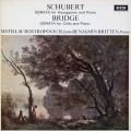ロストロポーヴィチ&ブリテンのシューベルト/「アルペジオーネ」ソナタほか  蘭DECCA 2946 LP レコード