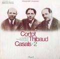コルトー、ティボー&カザルスのベートーヴェン/ピアノ三重奏曲「大公」   独EMI 2946 LP レコード