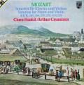 グリュミオー&ハスキルのモーツァルト/ヴァイオリン・ソナタ集   蘭PHILIPS 2946 LP レコード