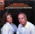 【未開封】ムター&ワイセンベルクのブラームス/ヴァイオリンソナタ集   独EMI 2946 LP レコード