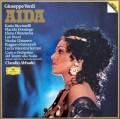 【未開封】アバドのヴェルディ/「アイーダ」全曲   独DGG 2946 LP レコード