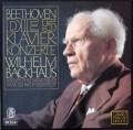 バックハウス&イッセルシュテットのベートーヴェン/ピアノ協奏曲全集  独DECCA 2946 LP レコード