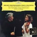 ムター&カラヤンのモーツァルト/ヴァイオリン協奏曲第3&5番  独DGG 2947 LP レコード