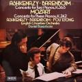 【オリジナル盤】バレンボイム&アシュケナージらのモーツァルト/2台のピアノのための協奏曲ほか    英DECCA 2947 LP レコード