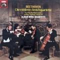 【未開封】アルバン・ベルク四重奏団のベートーヴェン/中期弦楽四重奏曲集    独EMI 2947 LP レコード