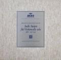 フルニエのバッハ/無伴奏チェロ組曲全集    独ARCHIV 2947 LP レコード