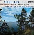 【サイン入り】マゼールのシベリウス/交響曲第1番ほか    英DECCA 2948 LP レコード