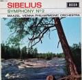 【オリジナル盤&サイン入り】マゼールのシベリウス/交響曲第2番    英DECCA 2948 LP レコード