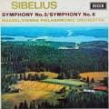 【オリジナル盤&サイン入り】マゼールのシベリウス/交響曲第3&6番    英DECCA 2948 LP レコード