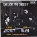 【サイン入り】アシュケナージ&マゼールのチャイコフスキー/ピアノ協奏曲第1番    英DECCA 2948 LP レコード
