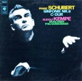 ケンペのシューベルト/交響曲第9(8)番「グレイト」    独CBS 2948 LP レコード